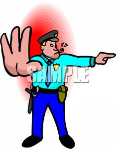 233x300 Police Clipart Trafic