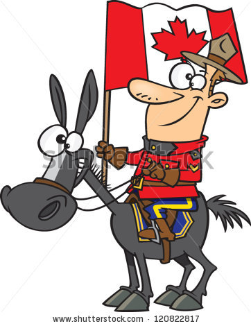 362x470 Royal Canadien Mounted Police Clipart
