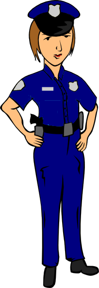 204x594 Free Police Cliparts