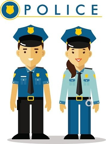 355x484 Lovely Of Police Uniform Clipart