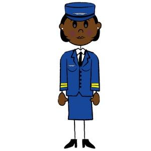 300x300 Uniform Clipart Pilot Uniform