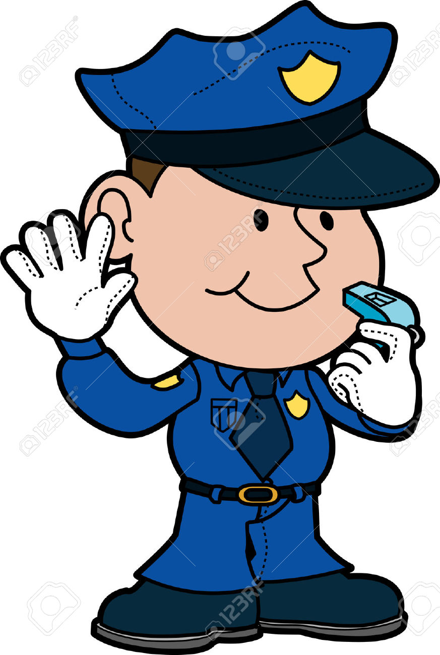 873x1300 Police Officer Clipart