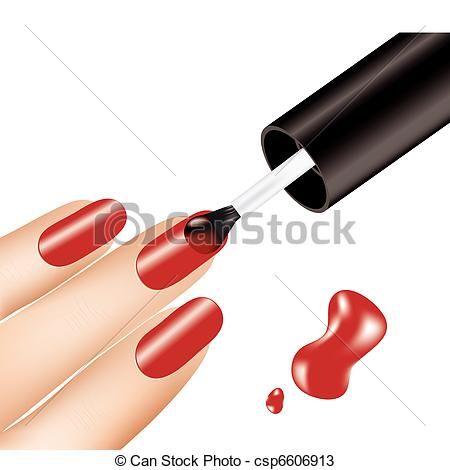 450x470 New Nail Art Clip Art Nail