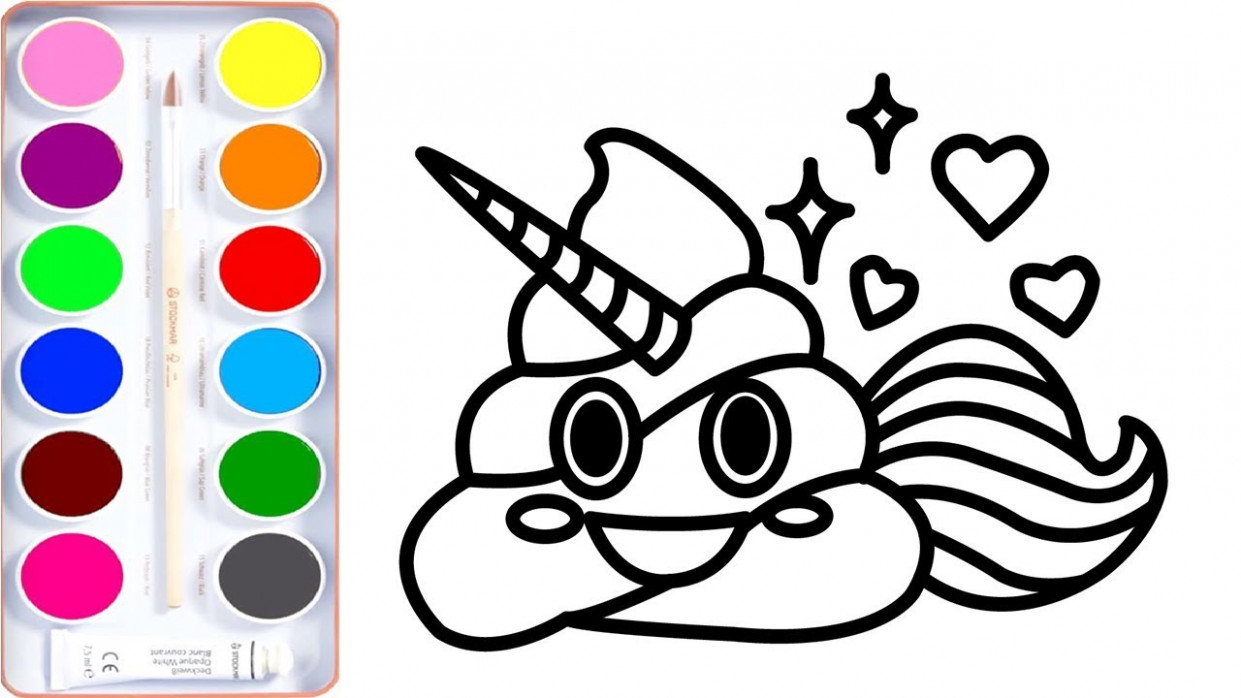 Poo Colouring Pages at GetDrawings Free for personal