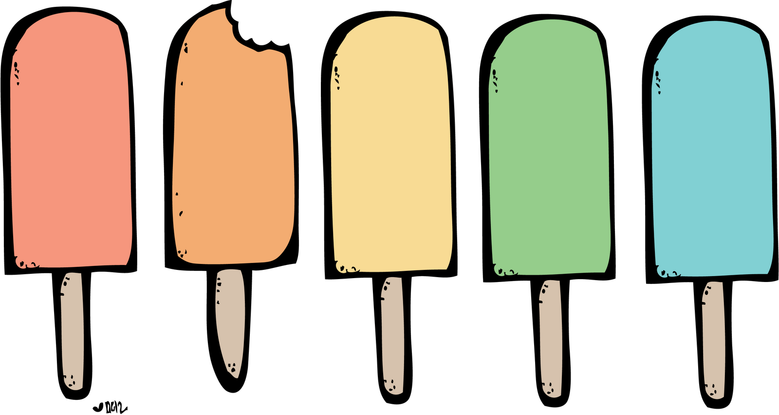 1600x852 Popsicle Ice Pop Clip Art Cream Clipart Summer Digital