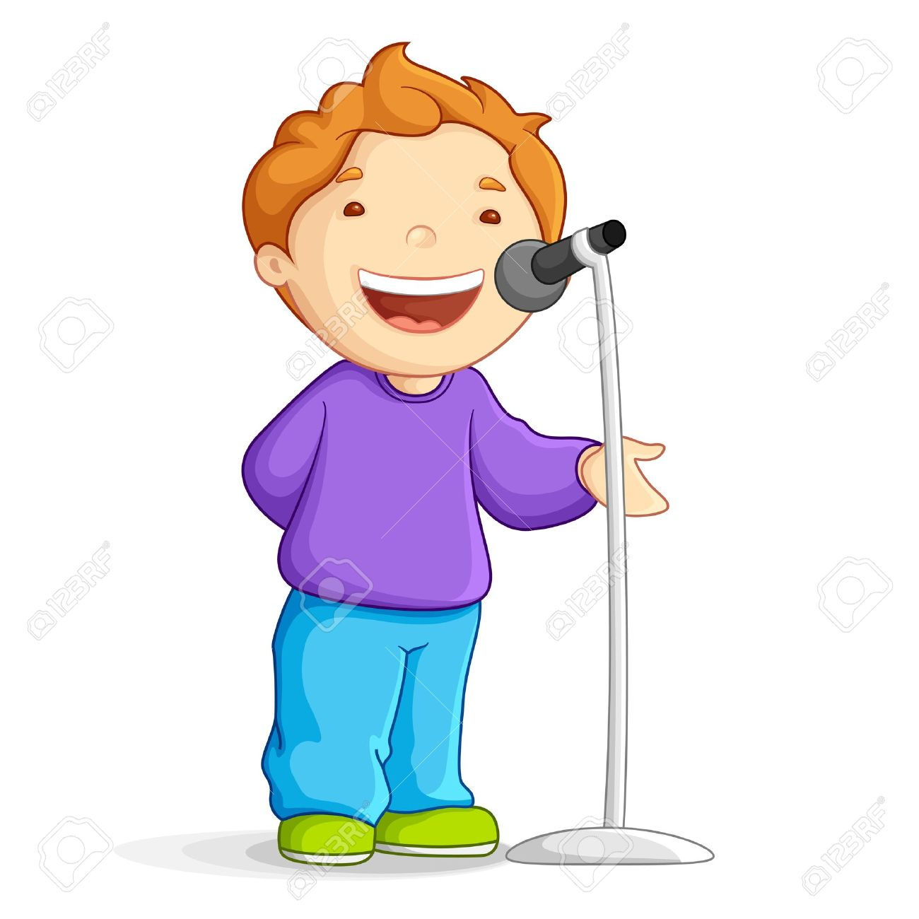 1300x1300 Gallery Boy Singer Clip Art,