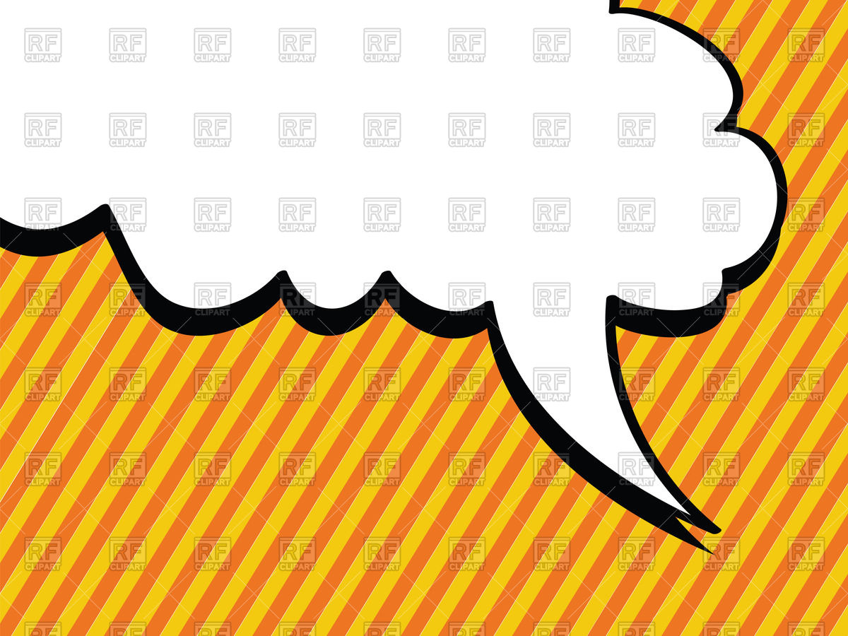 1200x900 Pop Art Clipart Speech Bubble