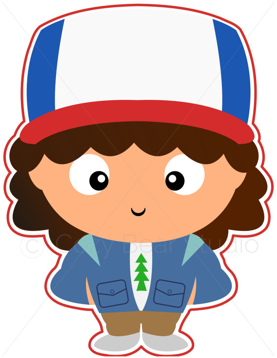 570x738 Stranger Things Clipart