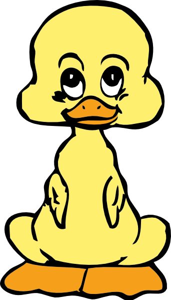 342x598 Cartoon Ducks Clipart