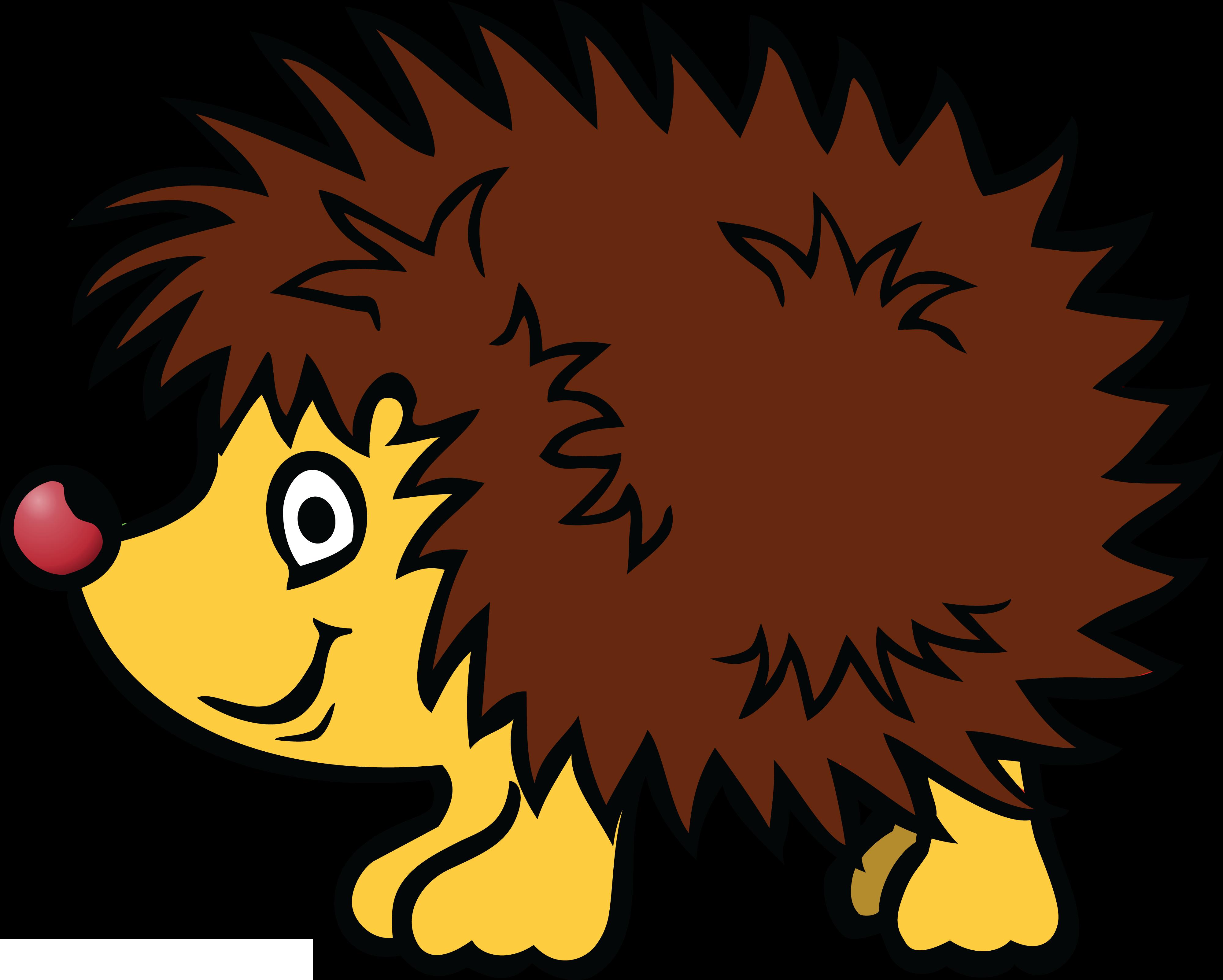 4000x3206 Free Clipart Of A Hedgehog