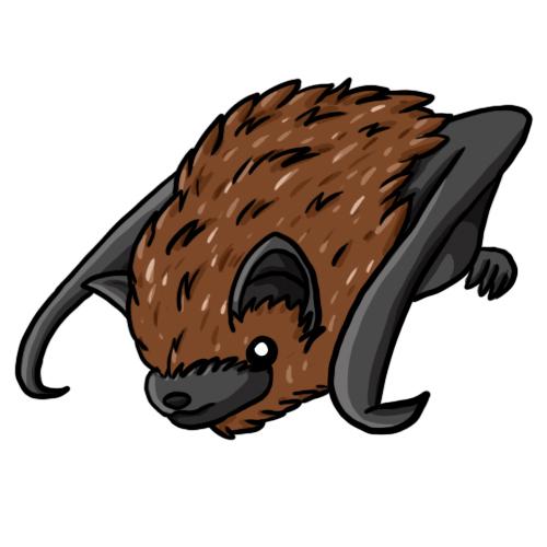 500x500 Free Bat Clip Art 5
