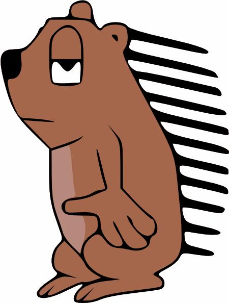 450x594 Porcupine Clip Art