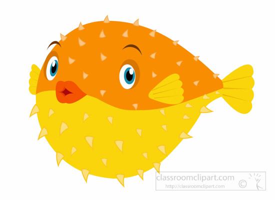 550x400 Top 89 Puffer Fish Clip Art
