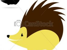 220x165 Porcupine Clipart Vector Image Of An Porcupine On White Background
