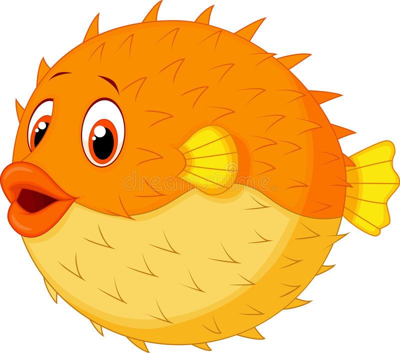 800x706 Puffer Fish Cartoon Cute Puffer Fish Cartoon Stock Vector