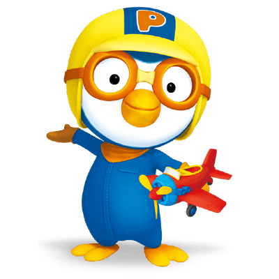 400x400 Pororo Characters Transparent Png