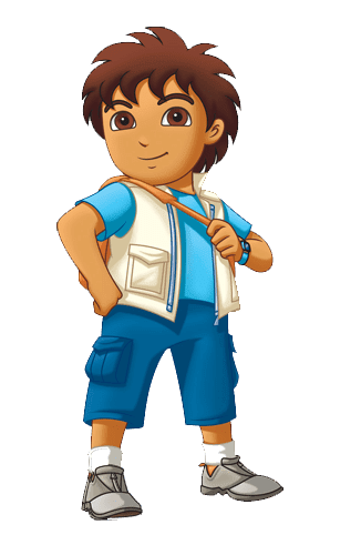326x482 Cartoon Characters Go Diego Go (Png)