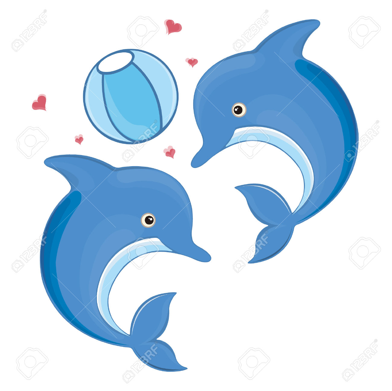 1300x1299 Bottlenose Dolphin Clipart