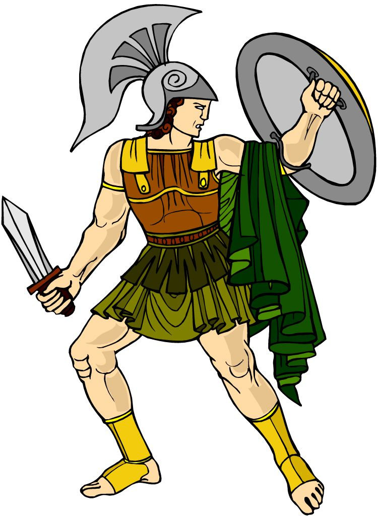 750x1028 God Ares Ancient Greece Clipart