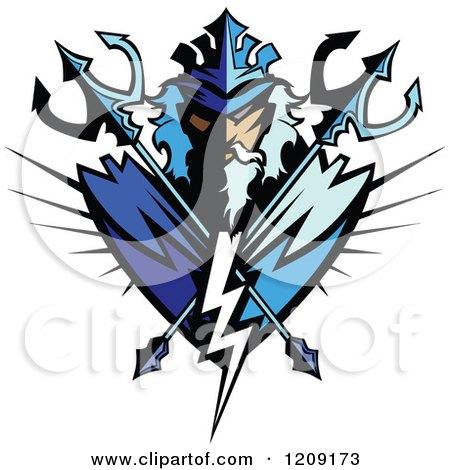 450x470 Royalty Free (Rf) Poseidon Clipart, Illustrations, Vector Graphics