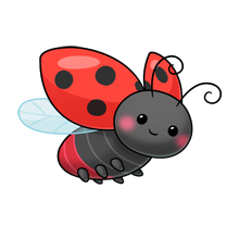 220x220 Pin By Minka On Tolle Bilder Wafer Paper, Ladybird