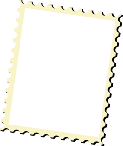 252x299 Postage Stamp Vector Clip Art