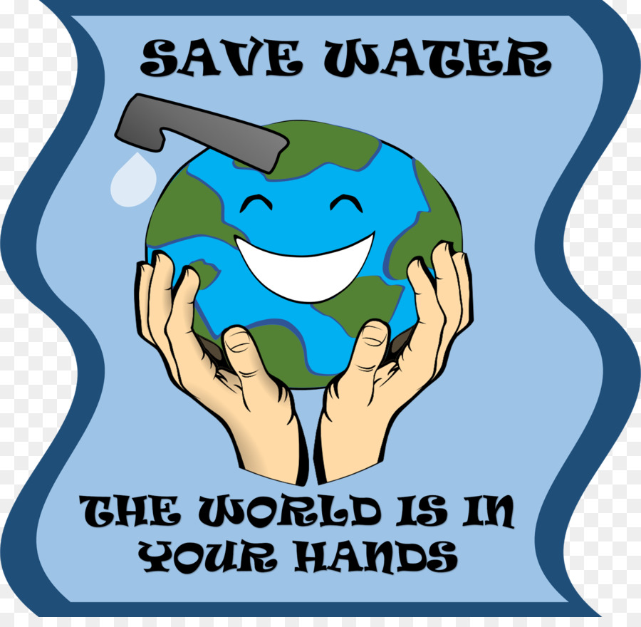 900x880 Water Conservation Poster Clip Art