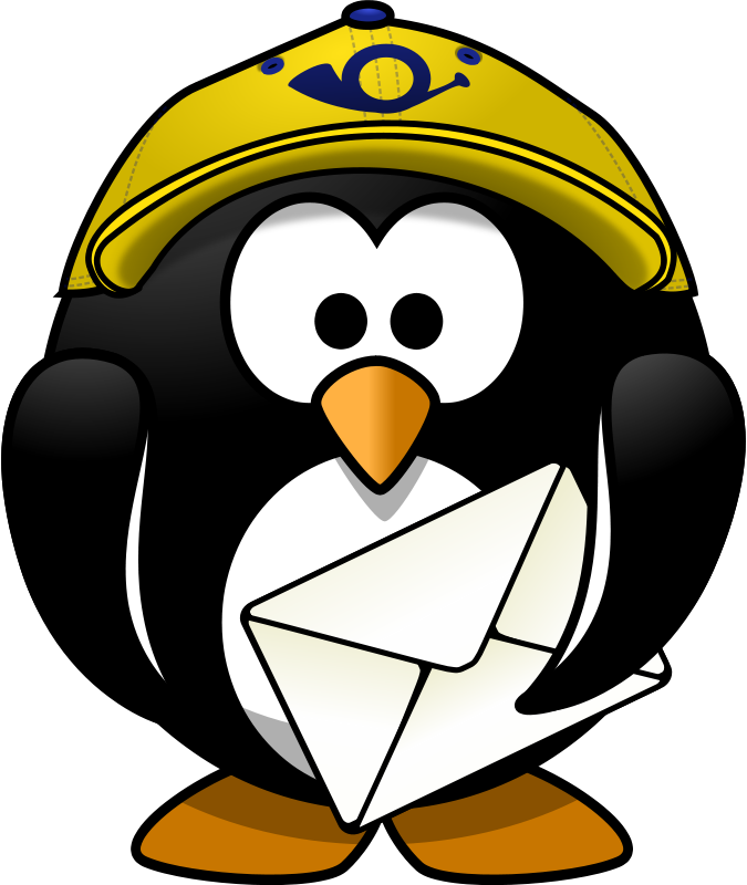 675x800 Free Clip Art Mr. Postman By Moini