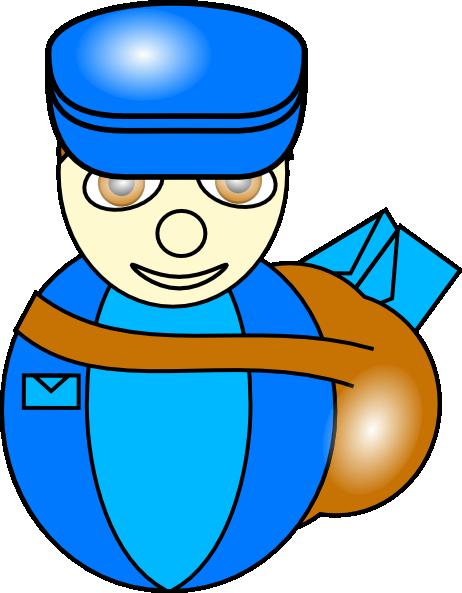 462x593 Postman Clip Art