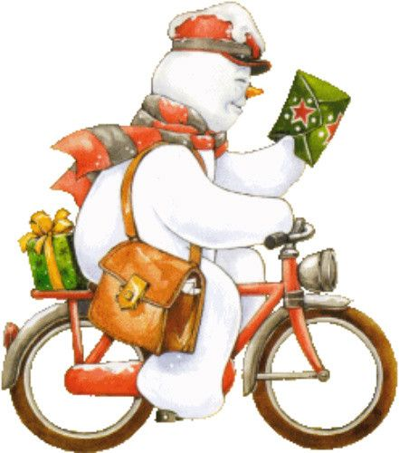 441x500 Snow Postman Snowman Photos Snow, Snowman And Clip Art