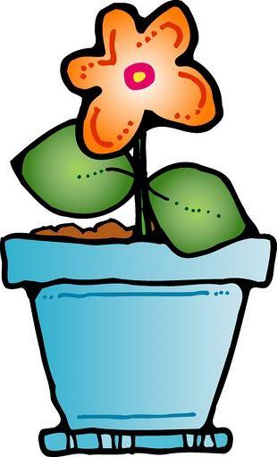 310x512 Flower And Pot Clip Art Primavera Clip Art, Picasa