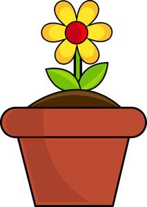 213x300 Pictures Clip Art Of Flower Pots,