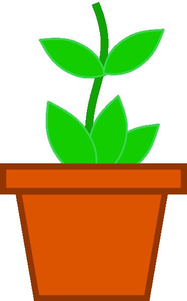 372x599 Pot Flower Clip Art
