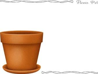 340x255 Pot Plant Clipart Art