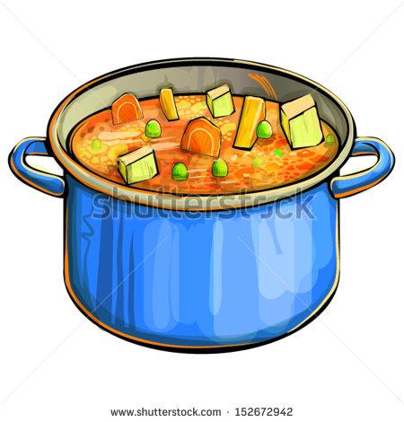 450x470 Soup Pot Clipart