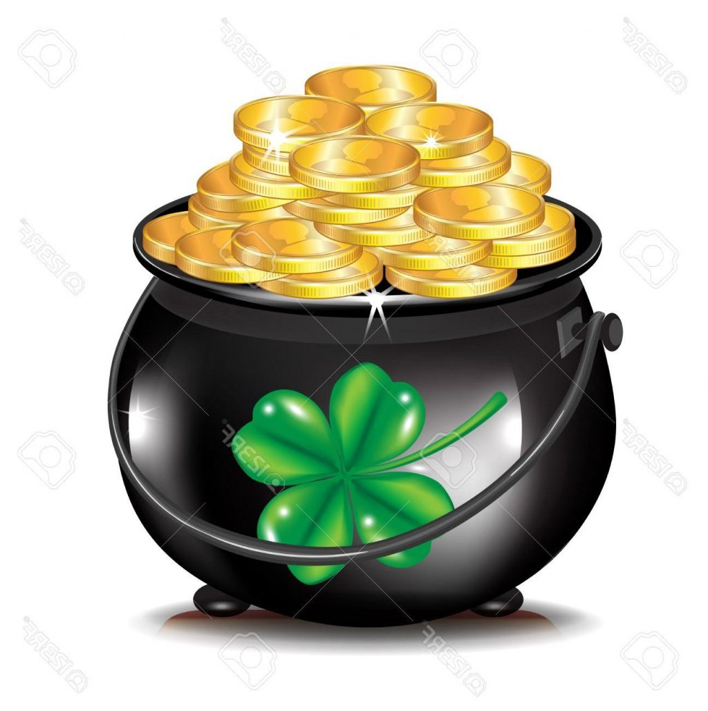 pot of gold clipart at getdrawings com free for personal use pot rh getdrawings com clipart pot of gold pot of gold clipart black and white