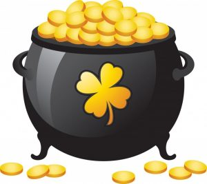 300x267 Pot Of Gold Clip Art Attractive Pictures Of A Pot Gold Clipart