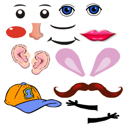 Potato Head Clipart
