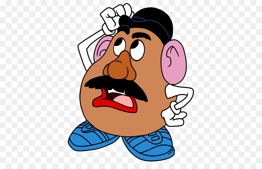 graphic about Mr Potato Head Printable Parts titled Potato Brain Clipart at  Totally free for individual