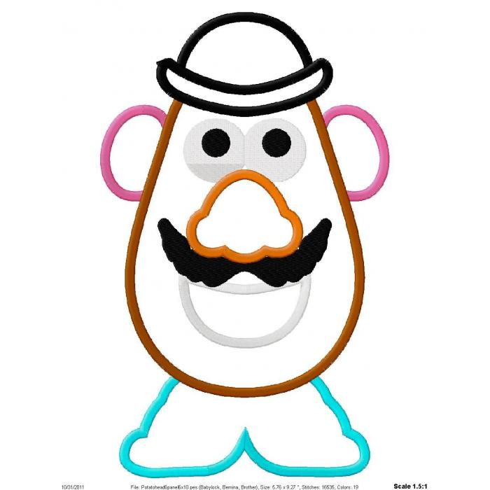 photograph regarding Mr Potato Head Parts Printable named Potato Brain Clipart at  Absolutely free for specific