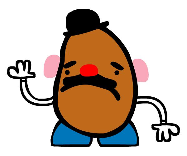 potato head clipart at getdrawings com free for personal use rh getdrawings com mr potato head pieces clipart