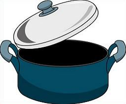 255x211 Cooking Scene Clip Art Back Gt Gallery For Gt Cooking Pots