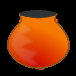 300x300 Earthen Pot Icon Clip Art