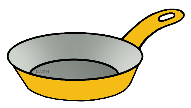 648x365 Miniclipspots And Pans Clip Art By Phillip Martin, Yellow Pan