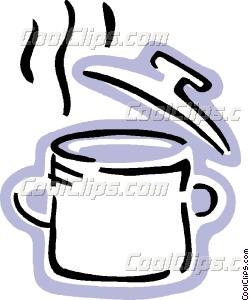 249x300 Boiling Pot Of Soup Vector Clip Art