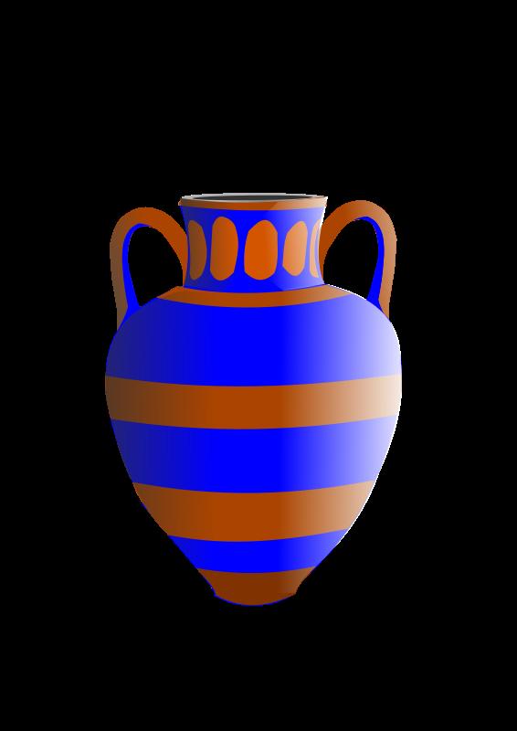 566x800 Vase Clip Art