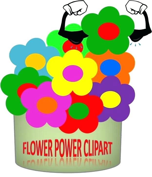 624x724 Flower Power Clip Art Free Flower Power Set Of Flowers In Format