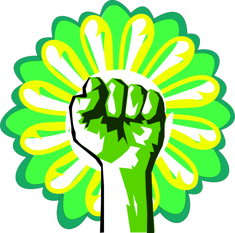 800x791 Free Clipart Green Power Dominiquechappard