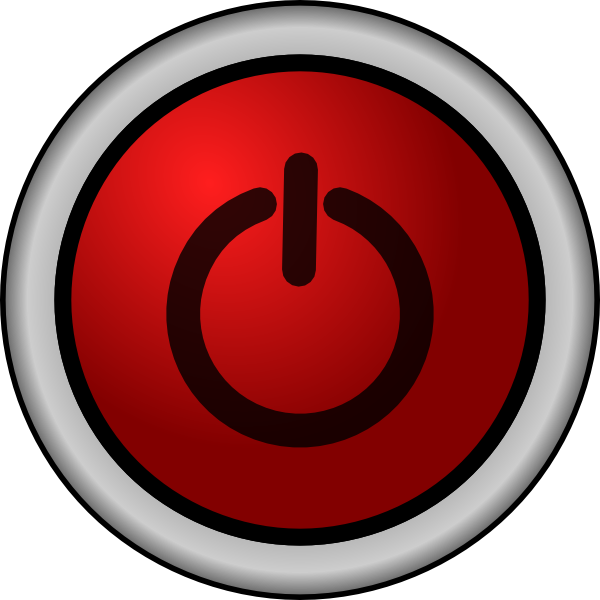 600x600 Power On Button Png, Svg Clip Art For Web