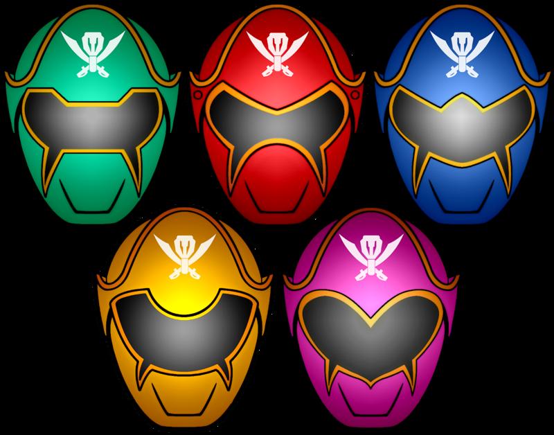 800x628 Power Rangers Super Megaforce Masks By Kalel7
